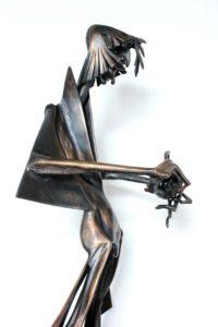 igor-kitzberger-s-kulickou-69x30x24-cm-bronz-a-mramor-side-detail