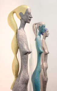 radek-andrle-czech-sculptor-femme-fatale-human-sized-sculptures-exhibited-in-los-angeles-in-bergamot-station-2015