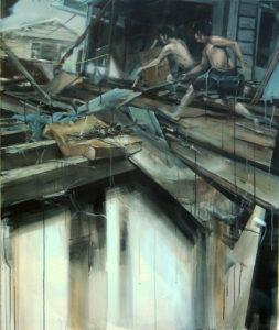 tomas-spevak-escape-120x100-cm-acrylic-on-canvas