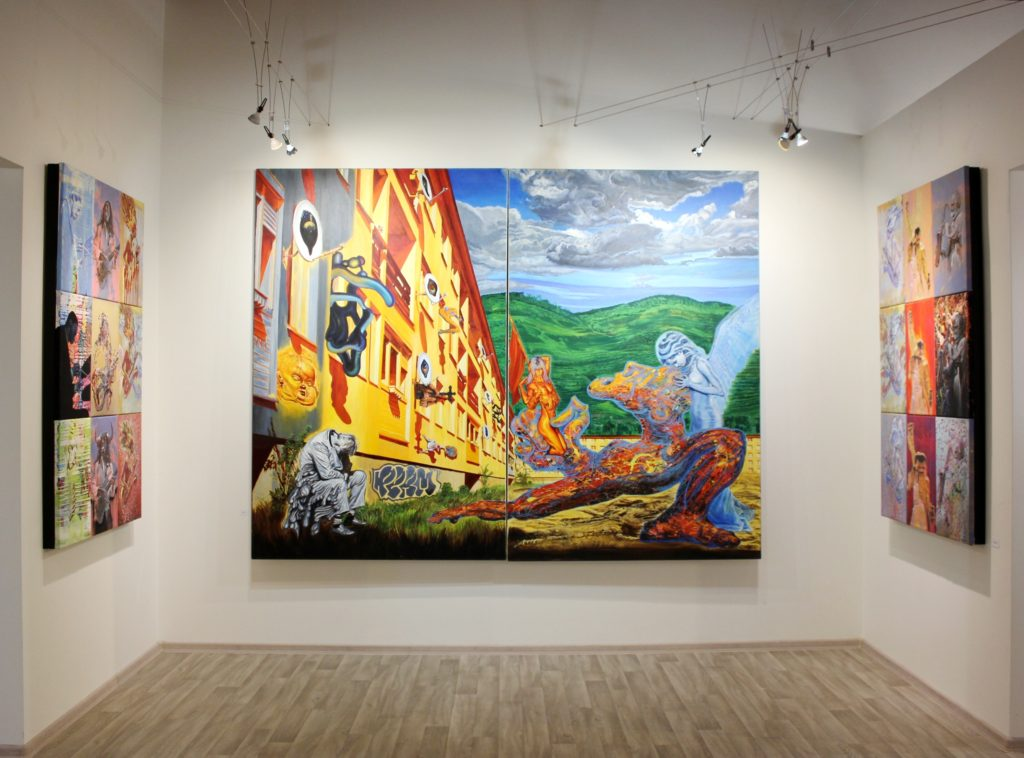 google image - igor piacka solo exhibition of monumental paintings in prague knupp gallery, contemporary fine art gallery