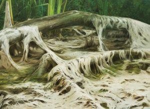 marek-slavik-swamp-5-acrylic-and-oil-on-canvas-year-2014-150x110cm-jas