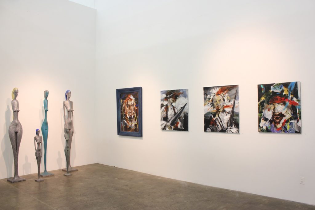 martin sarovec acrylic paintings on canvas, los angeles exhibtion 2015, presented by knupp gallery