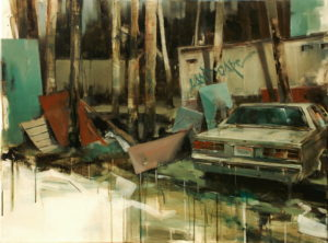 tomas spevak - Landscape, 60x80 cm