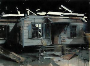 tomas-spevak-oil-and-acrylic-on-canvas-strange-game-150x200-cm