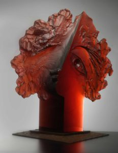 blanka-adensamova-dream-and-reality-melted-glass-sculpture-presented-by-knupp-gallery-la