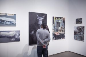 knupp gallery contemporary fine art at the la art show 2017
