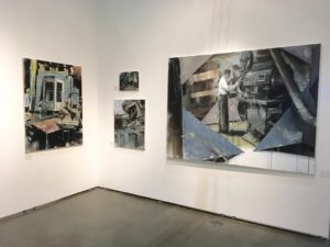 tomas spevak oil paintings at the la art show 2017 presented by knupp gallery la