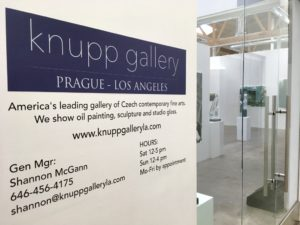 knupp gallery los angeles, contemporary fine art paintings sculpture glass